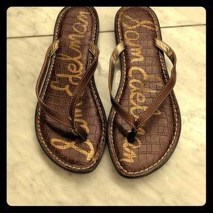 Sam Edelman tan sandals